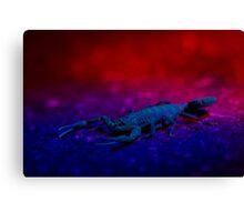 Sci-Fi Scorpio Canvas Print
