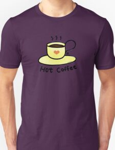 Hot coffee for coffee lover T-Shirt