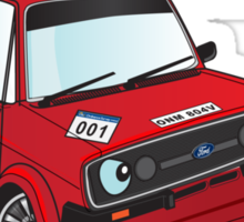 Ford Escort MK2 rally Sticker