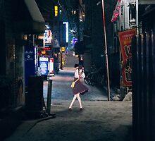 Monogatari – Nadeko Street by gentlemenwalrus