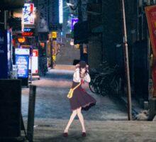 Monogatari – Nadeko Street Sticker