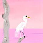 My One Egret by NorthForest