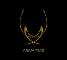 The Aquarius Zodiac Sign by Vy Solomatenko