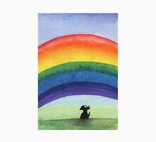 Scottie Dog 'Rainbow' Womens Fitted T-Shirt