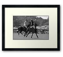 Cowdray Polo Framed Print