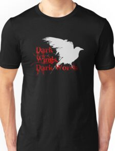 Dark Wings, Dark Words Unisex T-Shirt