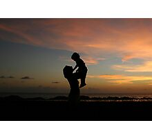 Mother and Child reunion Photographic Print
