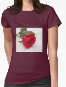 A rose on the snow T-Shirt