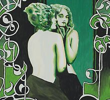 Exploration in Green by Rebecca Staffin