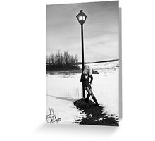 Lonely... Greeting Card