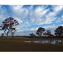 Rural Landscape --  Southern NSW  -  Australia Photographic Print