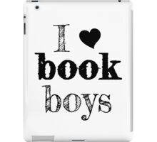 I <3 Book Boys iPad Case/Skin