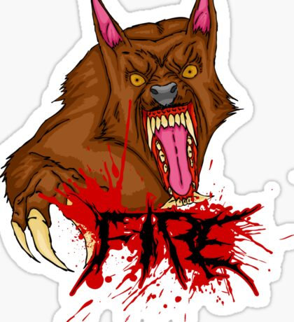 Lycanthropy Sticker