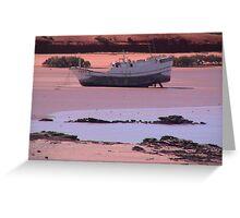 Purple Beach in Broome Greeting Card