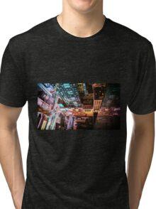 New York City - Night Tri-blend T-Shirt