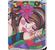 Keep Calm and Love Music iPad Case/Skin