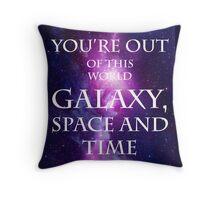Venus lyric design Throw Pillow