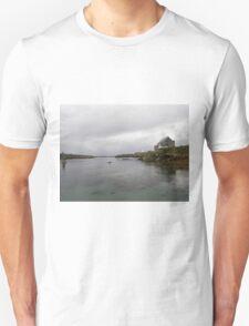 Blue Boat - Rutland Island - Donegal -  Ireland T-Shirt