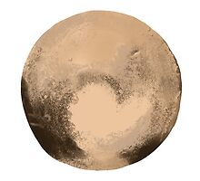 Pluto  by Mcarney