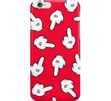 HATERS GONNA HATE! Pattern in red iPhone Case/Skin