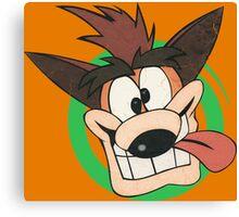 Crash Bandicoot - Classic PlayStation Canvas Print