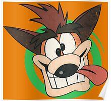 Crash Bandicoot - Classic PlayStation Poster