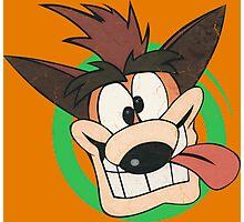 Crash Bandicoot - Classic PlayStation Photographic Print