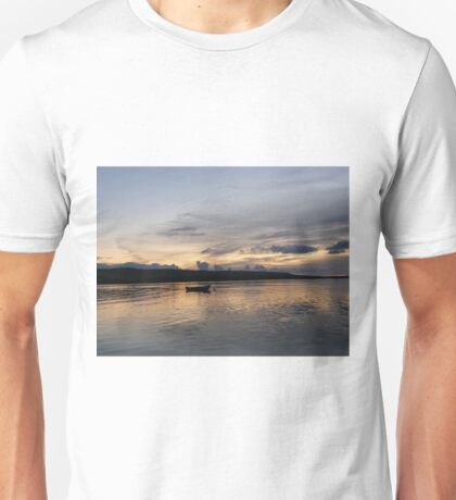Evening Calm ,Burtonport Harbour, Donegal,Ireland Unisex T-Shirt