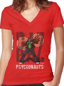 Razputin  Women's Fitted V-Neck T-Shirt