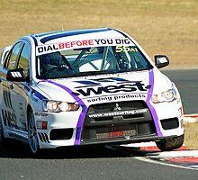 Australian Manufacturers Championship/Australian 6 Hour Winners : Stuart Kostera & Warren Luff : Mitsubishi Evo X by Gino Iori