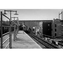 End of the Line Photographic Print