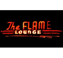 The Flame Photographic Print