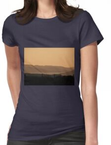 Mellow Evening over Donegal Ireland Womens Fitted T-Shirt