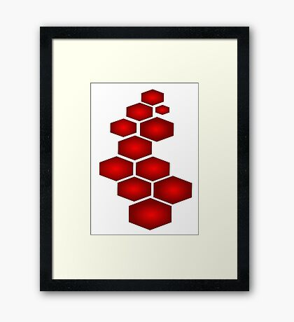 Abstract Puzzle Framed Print