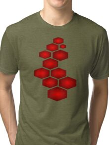 Abstract Puzzle Tri-blend T-Shirt