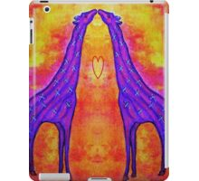 GIRAFFE KISSES iPad Case/Skin