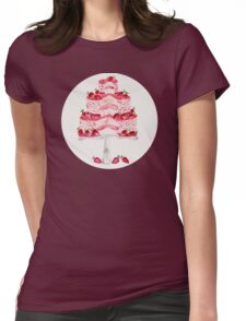Strawberry Shortcake Womens Fitted T-Shirt