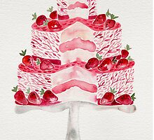 Strawberry Shortcake by Cat Coquillette