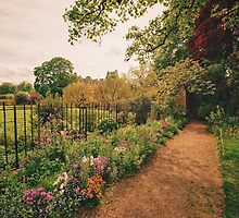 English Garden - Oxford - England by Vivienne Gucwa