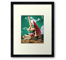 No tell motel Framed Print