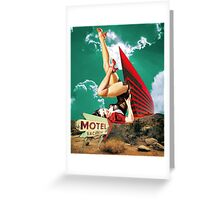 No tell motel Greeting Card