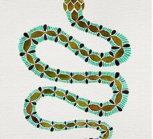 Turquoise Serpent by Cat Coquillette