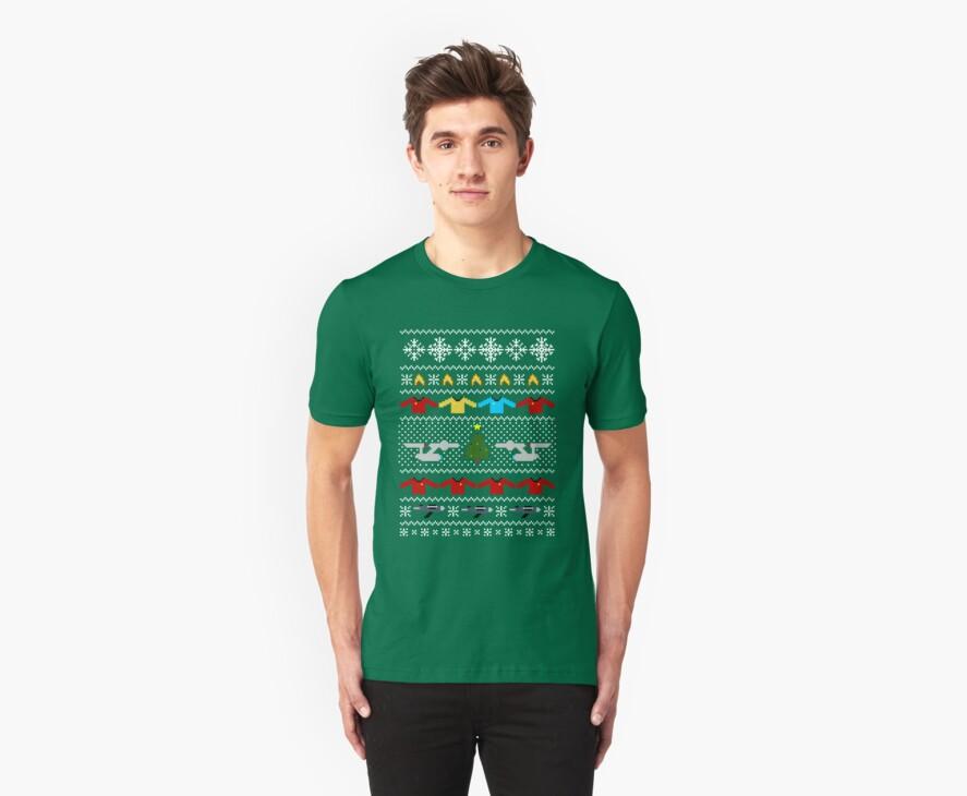 Captain's Christmas Sweater + Card by rydiachacha