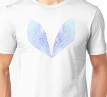 Periwinkle Cicada Wings Unisex T-Shirt