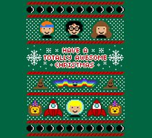 Totally Awesome Ugly Christmas Sweater + Card T-Shirt