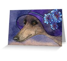 Whippet of Mystery Greeting Card