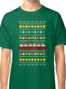 Super Ugly Christmas Sweater + Card Classic T-Shirt