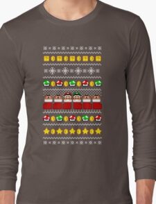 Super Ugly Christmas Sweater + Card Long Sleeve T-Shirt
