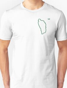 """Dominica """"Citizen of the Earth"""" small T-Shirt"""