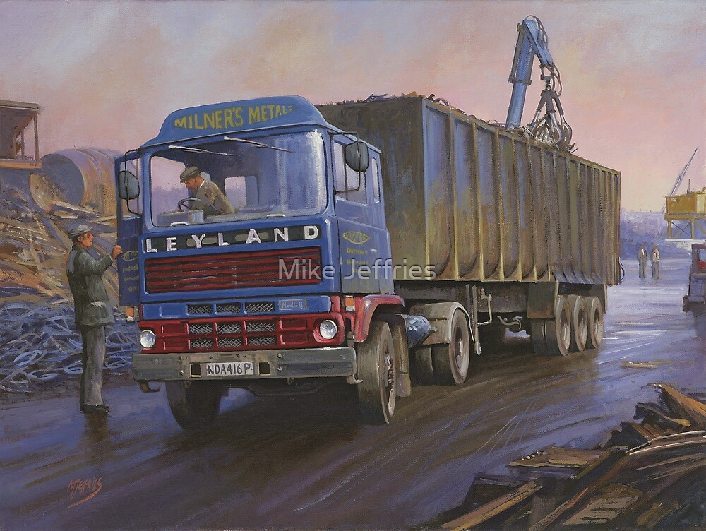 Leyland Marathon by Mike Jeffries